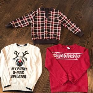 Gymboree Boy fleece,Gymboree sweater,H&M sweater